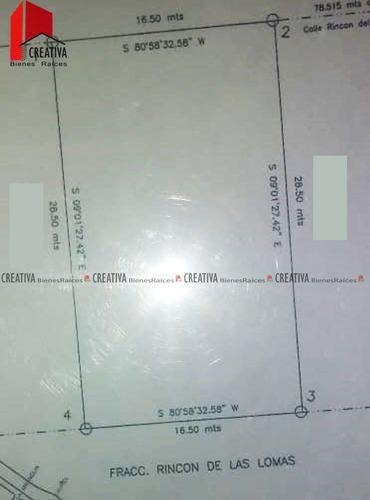 terreno en venta rincon  de las lomas 2, chihuahua, chihuahua