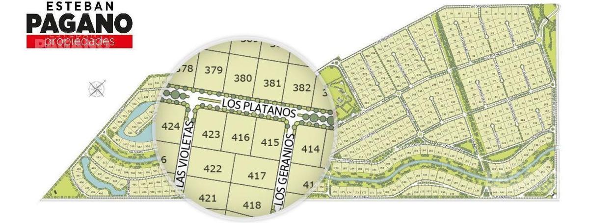 terreno en venta ruta 2 km 65 brandsen- campos de roca ii