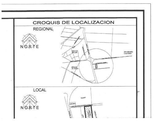 terreno en venta, san gregorio cuautzingo, chalco