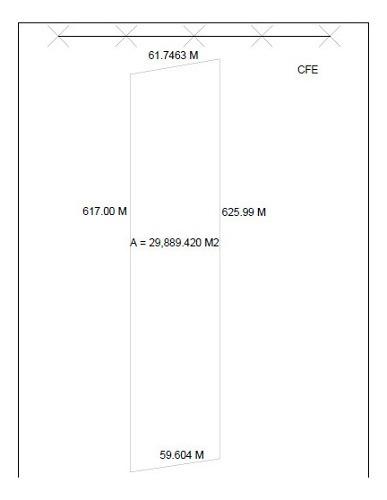 terreno en venta sobre libramiento sur poniente de 30,000mt2 a $1,800.00 mt2