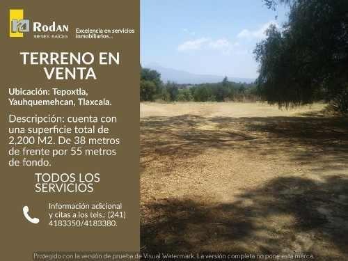 terreno en venta tepoxtla