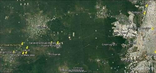 terreno en venta tetiz, yucatán