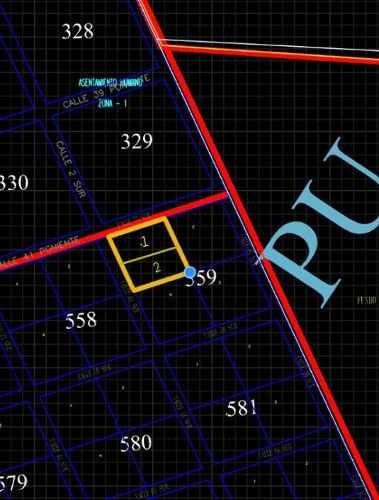 terreno en venta- tulum - calle 44