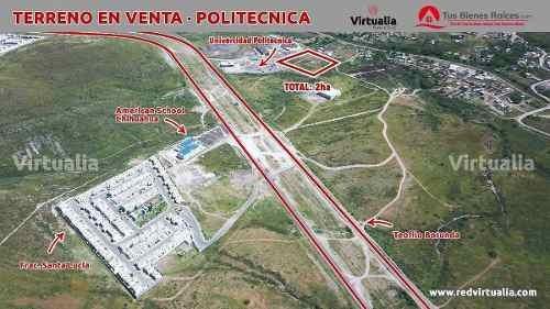 terreno en venta universidad politécnica de chihuahua, chihuahua
