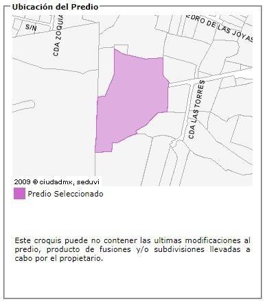 terreno en venta xochimilco