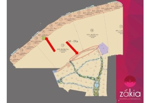 terreno en venta - zakia - te313