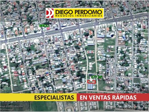 terreno en venta,dos frentes; mas posibilidades- uruguay