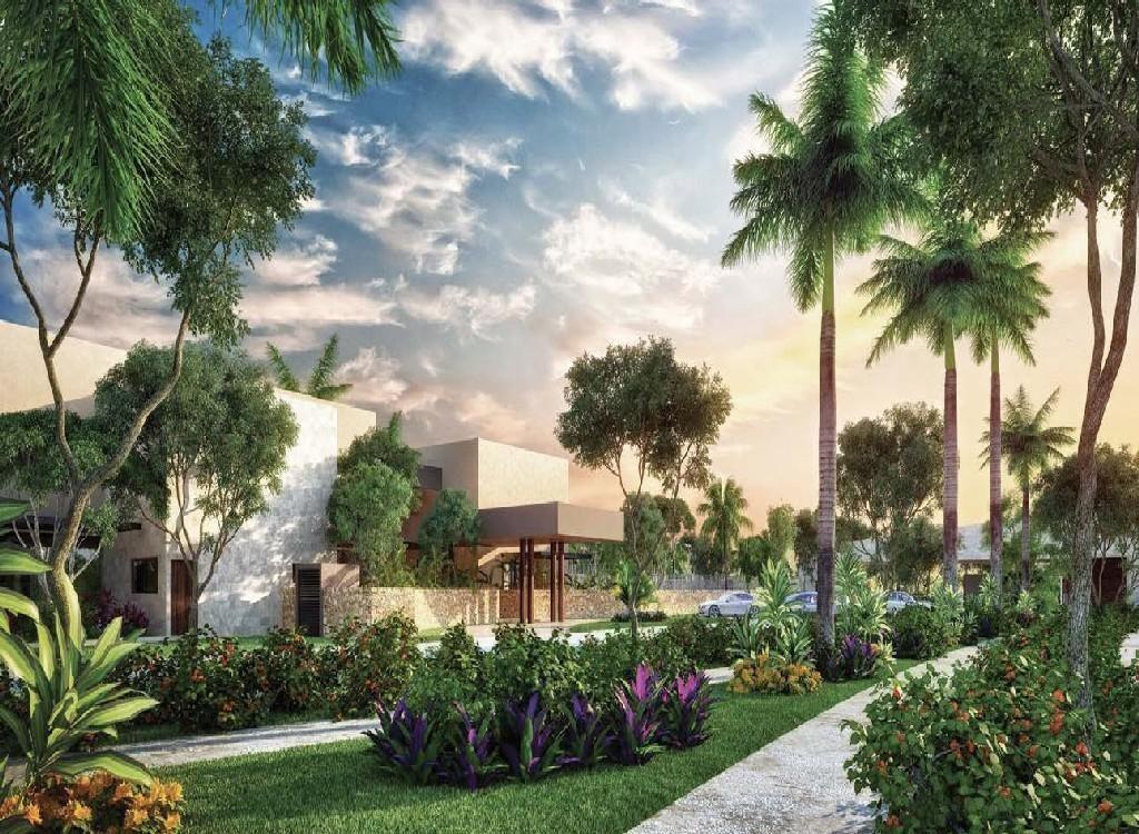 terreno en venta,privada compostela,residencial de alto lujo,chablekal,mérida,yucatán