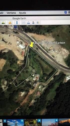 terreno en villa del carbón, villa del carbón a.v