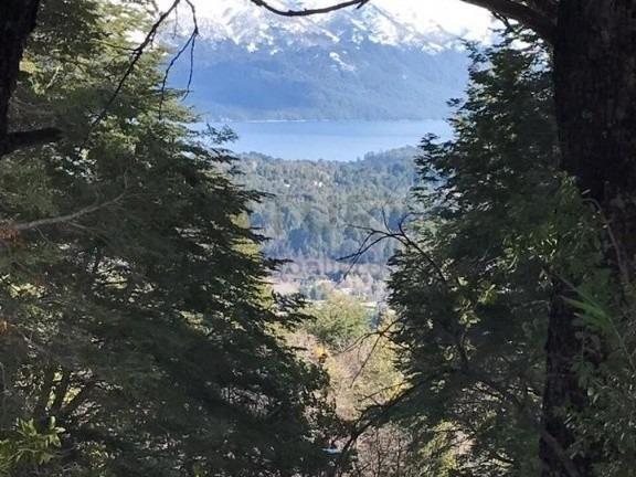 terreno en villa la angostura barrio villa flor, excelente vista al lago!