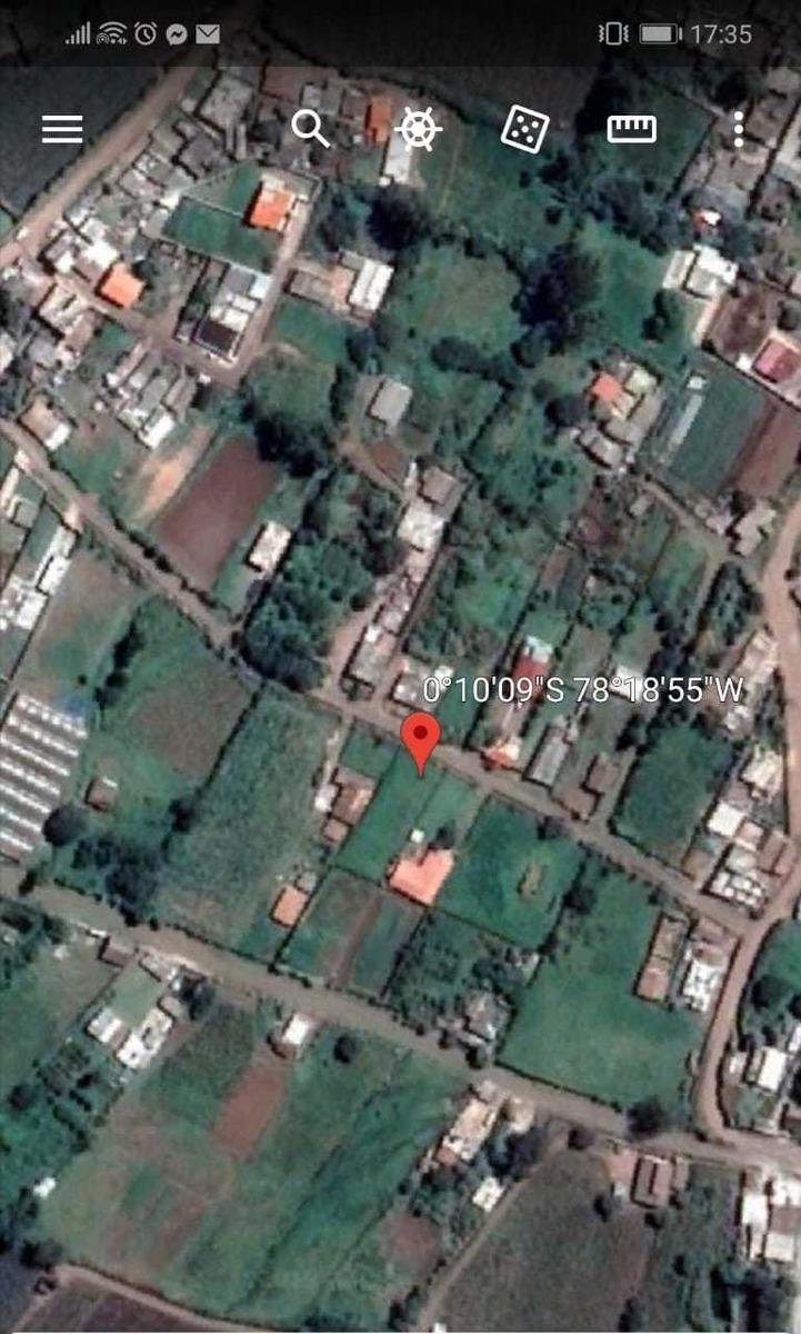 terreno en yaruqui sector el tejar