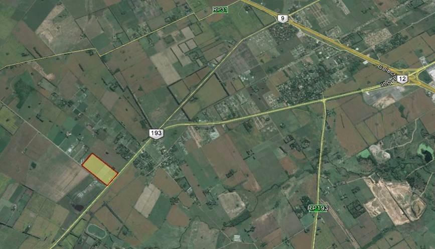 terreno en zarate - ruta nacional 193 km 11,3