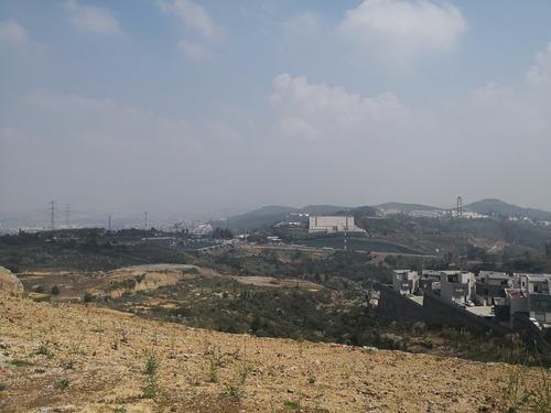 terreno en zona esmeralda con preciosa vista a la ciudad