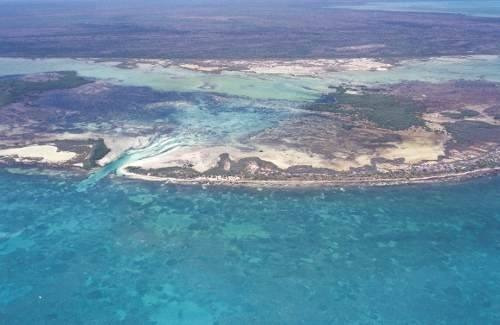 terreno enfrente de isla blanca, cancun