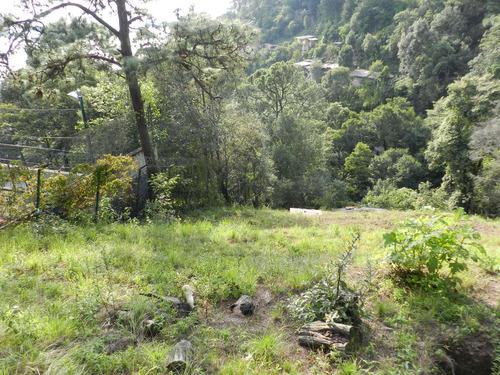 terreno escriturado de 5 mil mts. en valle de bravo