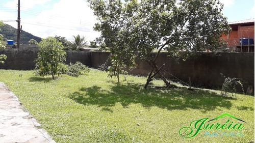 terreno *escriturado no parque serramar - peruibe/sp t1028