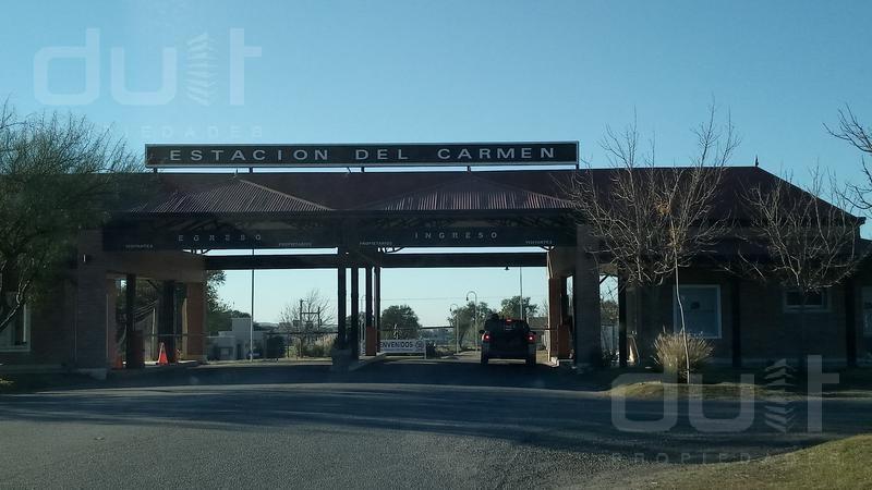 terreno - estación del carmen