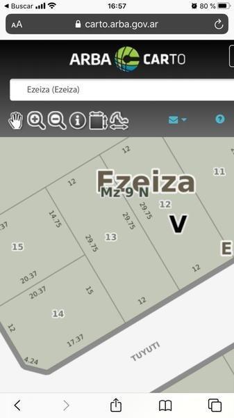 terreno - ezeiza