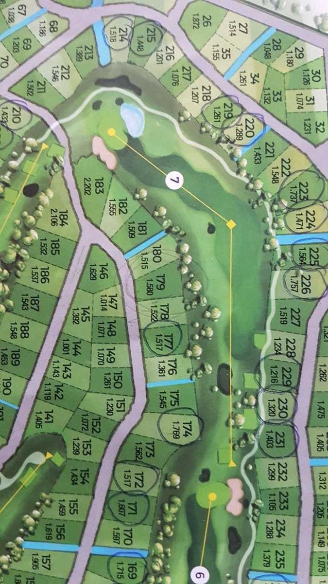 terreno fondo golf  estancia el terron