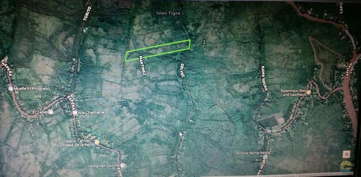 terreno fraccion  en venta ubicado en delta (tigre), zona norte