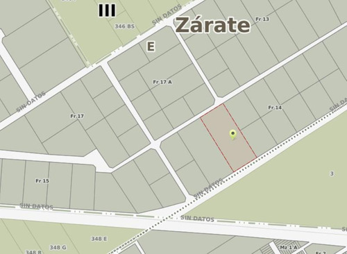 terreno fraccion industrial en venta y alquiler en parque industrial zarate. camino costa brava