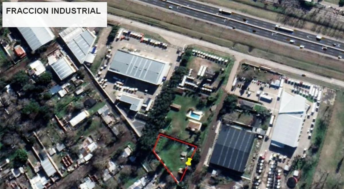 terreno -  fracción industrial la reja