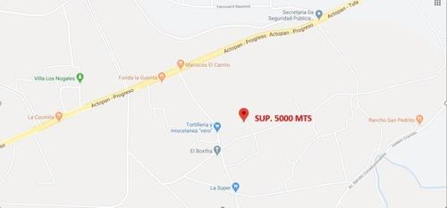 terreno fraccionado 26 lotes actopan hidalgo sup. 5,000 mts