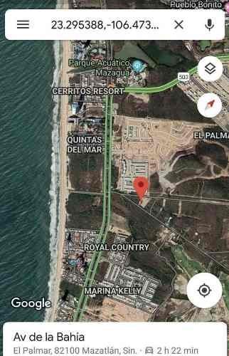terreno - fraccionamiento quintas del mar