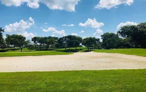terreno frente a campo de golf en country club yucatan privada kilil