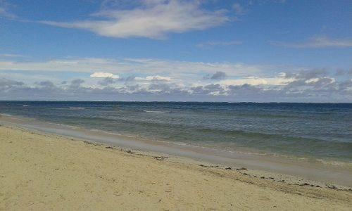 terreno frente a la playa en venta