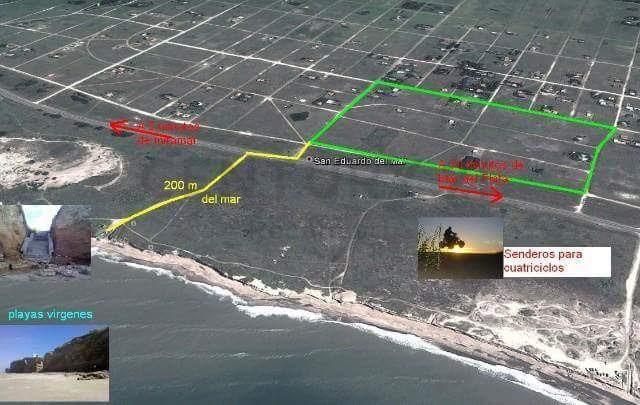terreno frente al mar en san eduardo del mar en mar del plata id175