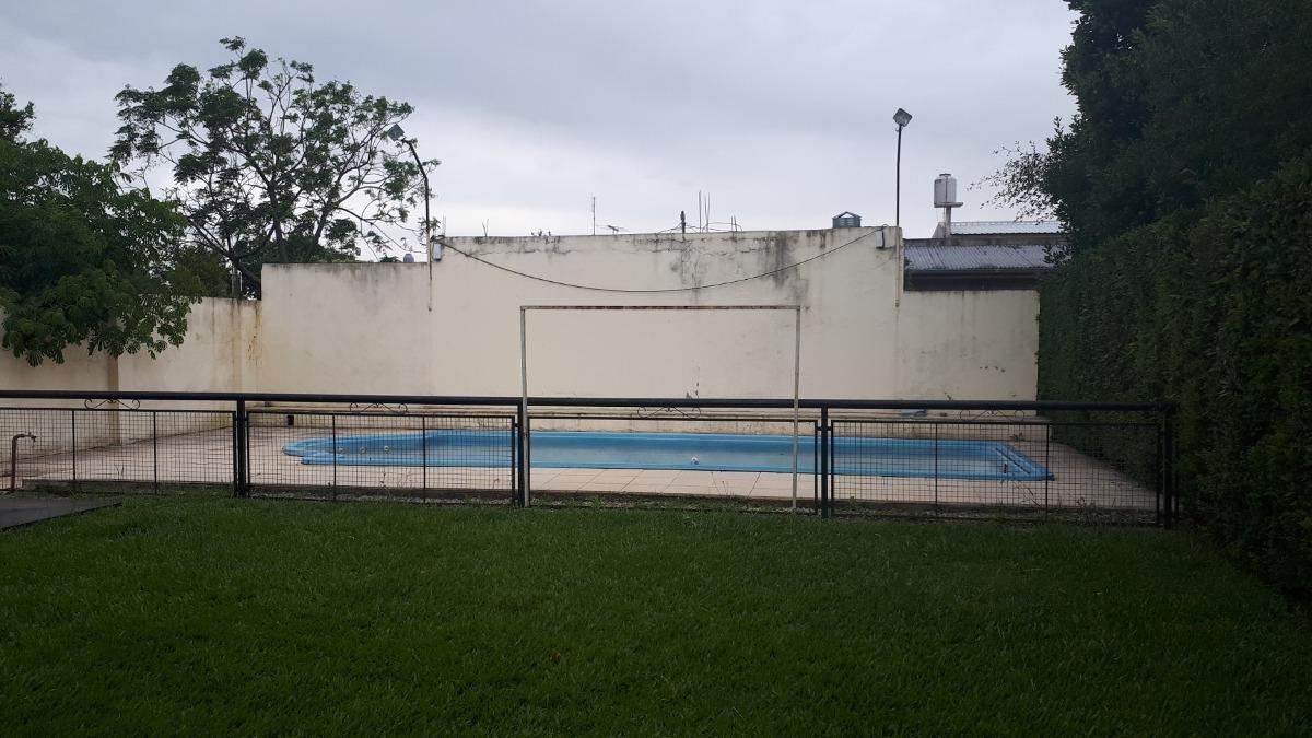 terreno grande 12x50 / mejoras quincho  y pileta. g. catan