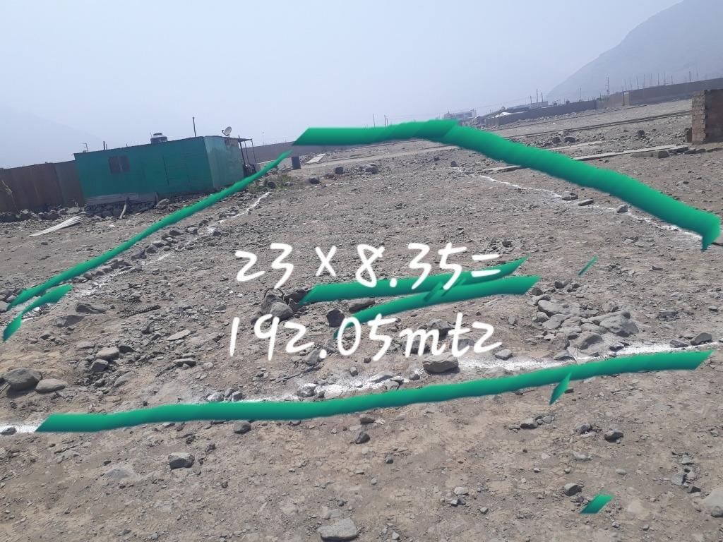 terreno grande  192.05m2
