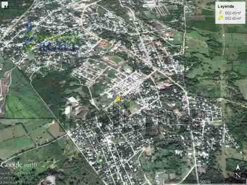 terreno grande en venta de 662 m² en la ciudad de cerro azul se encuentra ubicado en la calle emiliano zapata esquina con reforma, cuenta con 662.45 m², los servicios públicos con los que cuenta son