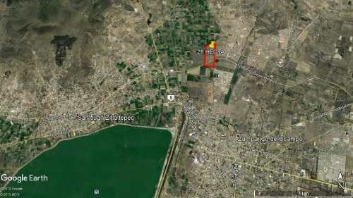 terreno hab villas de la laguna, zumpango sup. 28 hectáreas
