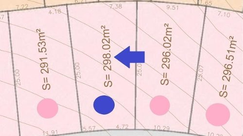 terreno habitacional de 298.02 m2 en la cumbre en cumbres del lago