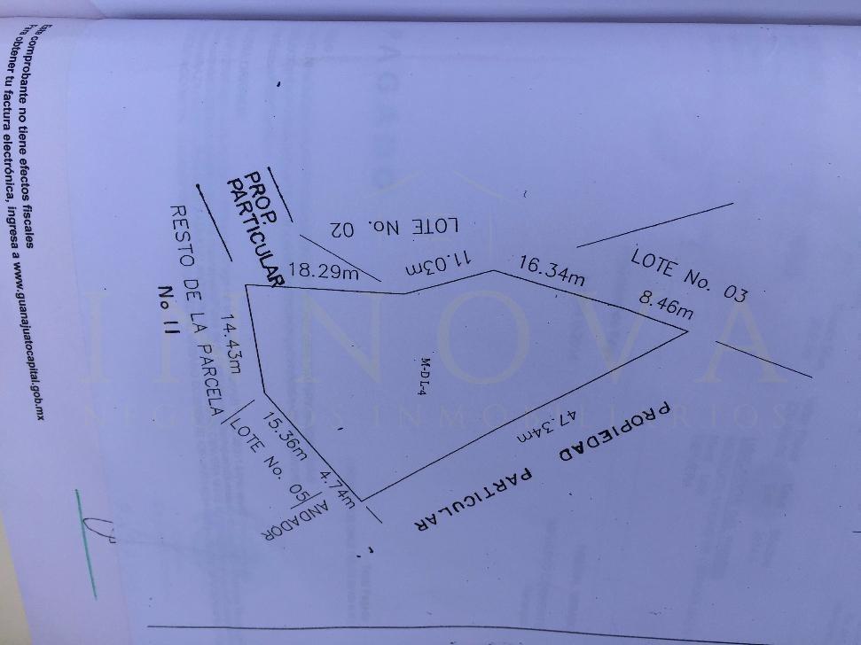 terreno habitacional en área con buen desarrollo y plusvalía $950 m2
