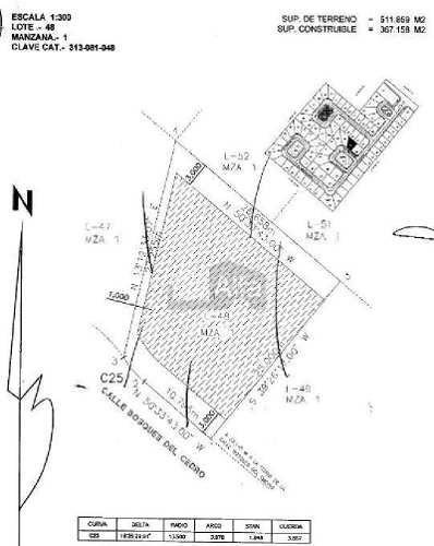 terreno habitacional en venta en bosques del rejón, chihuahua, chihuahua