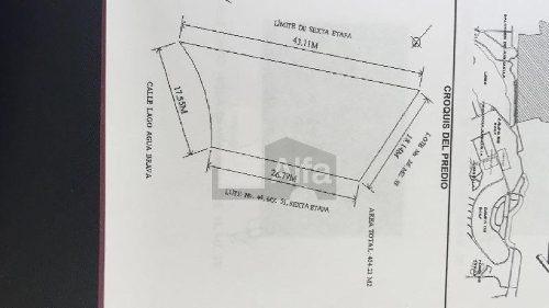 terreno habitacional en venta en cumbres del lago, querétaro, querétaro