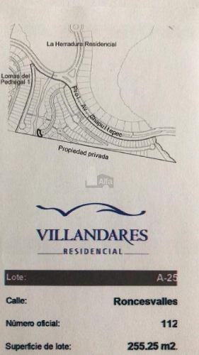 terreno habitacional en venta en desarrollo del pedregal, san luis potosí, san luis potosí