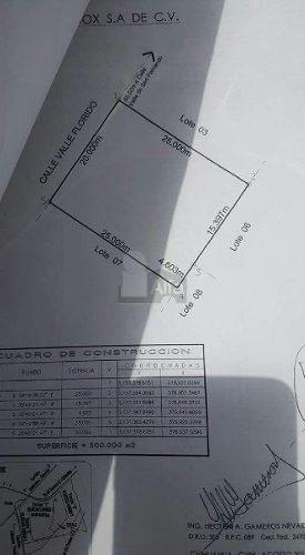 terreno habitacional en venta en fraccionamiento valle dorado, santa isabel, chihuahua