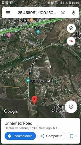terreno habitacional en venta en huajuquito o los cavazos, santiago, nuevo león