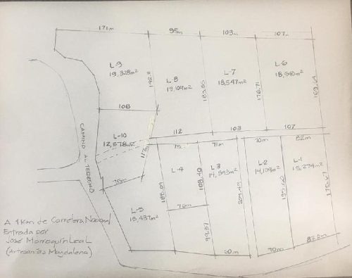 terreno habitacional en venta en huajuquito, santiago, nuevo león