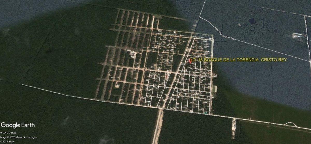 terreno habitacional en venta en la colonia cristo rey en playa del carmen