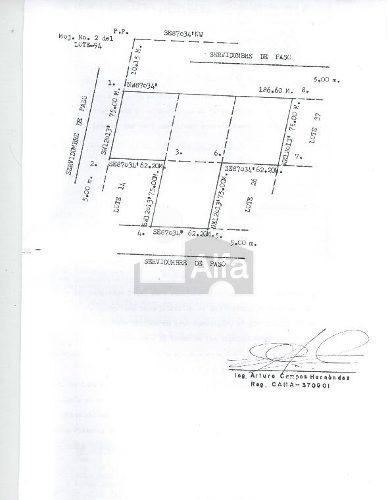 terreno habitacional en venta en plazuela de acuña, juárez, chihuahua