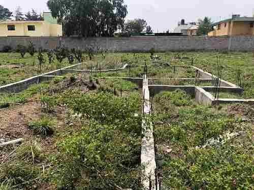 terreno habitacional en venta en san lorenzo, zumpango, méxico