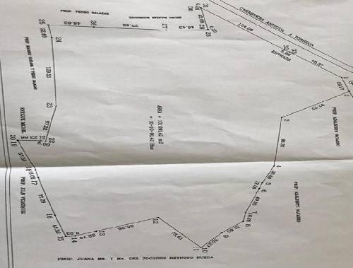 terreno habitacional en venta en soledad de graciano sanchez centro, soledad de graciano sánchez, san luis potosí