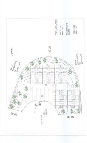 terreno habitacional para 5 viviendas