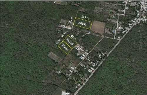 terreno - hacienda xcunya