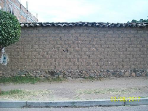 terreno huanta  700 m2 jr. m. sucre 511 barrio 5 esquinas
